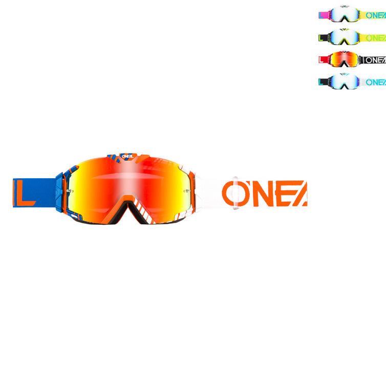 Oneal B-30 Duplex Radium Motocross Goggles