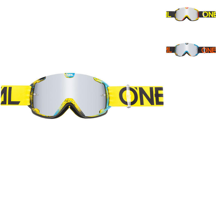 Oneal B-30 Ink Youth Motocross Goggles