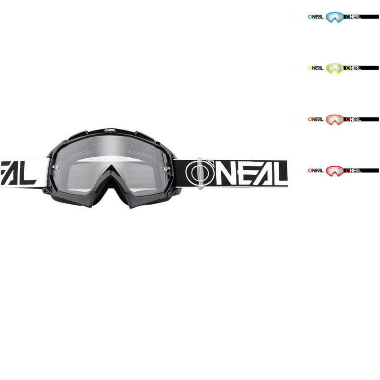 Oneal B-10 Two Face Clear Motocross Goggles