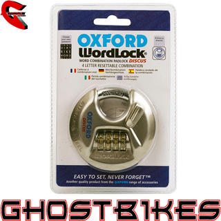 View Item Oxford Discus WordLock Padlock