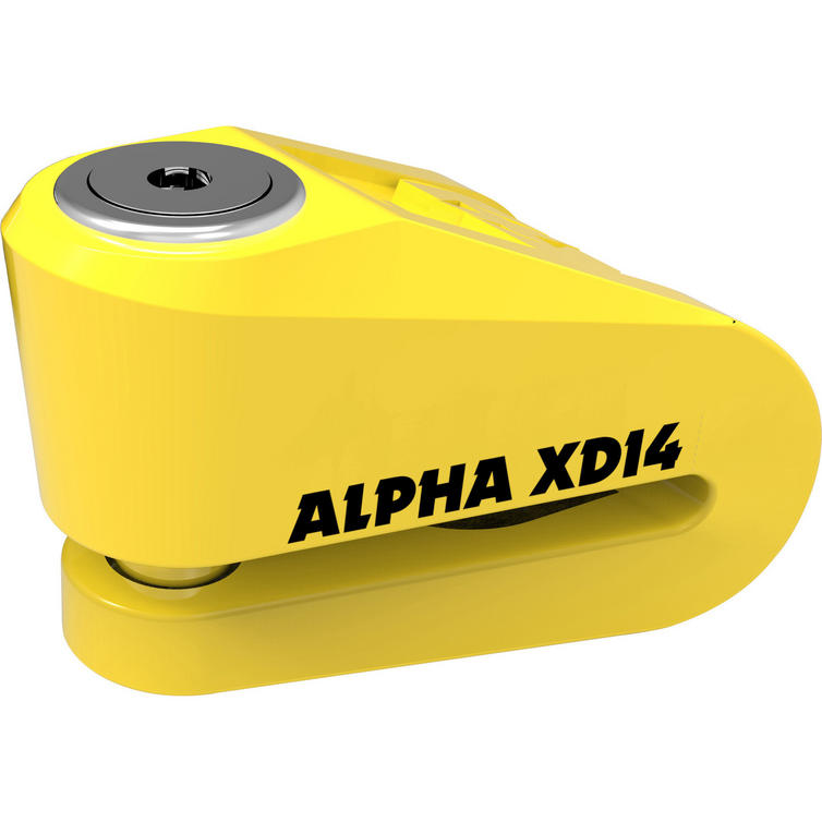 Oxford Alpha XD14 Stainless Disc Lock (14 mm Pin) (XD14)