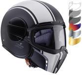 Caberg Ghost Legend Open Face Motorcycle Helmet & Visor