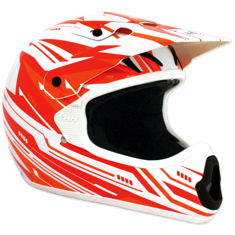 THH-TX-10-TX10-3-MX-ENDURO-ATV-QUAD-PIT-DIRT-BIKE-ACU-GOLD-MOTOCROSS-HELMET