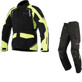 Alpinestars Andes DryStar v2 Motorcycle Jacket & Trousers Fluo/Black Kit
