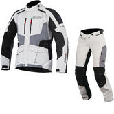 Alpinestars Andes DryStar v2 Motorcycle Jacket & Trousers Grey Kit