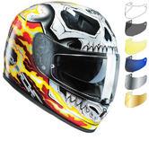HJC FG-ST Ghost Rider Motorcycle Helmet & Visor