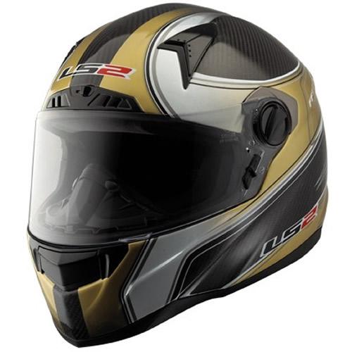 Carbon fiber helmets mince his words