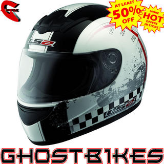 LS2 FF350 Chrono Motorcycle Helmet