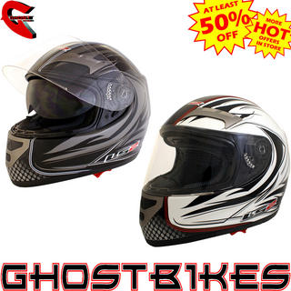 LS2 FF375 Stealth Motorcycle Helmet
