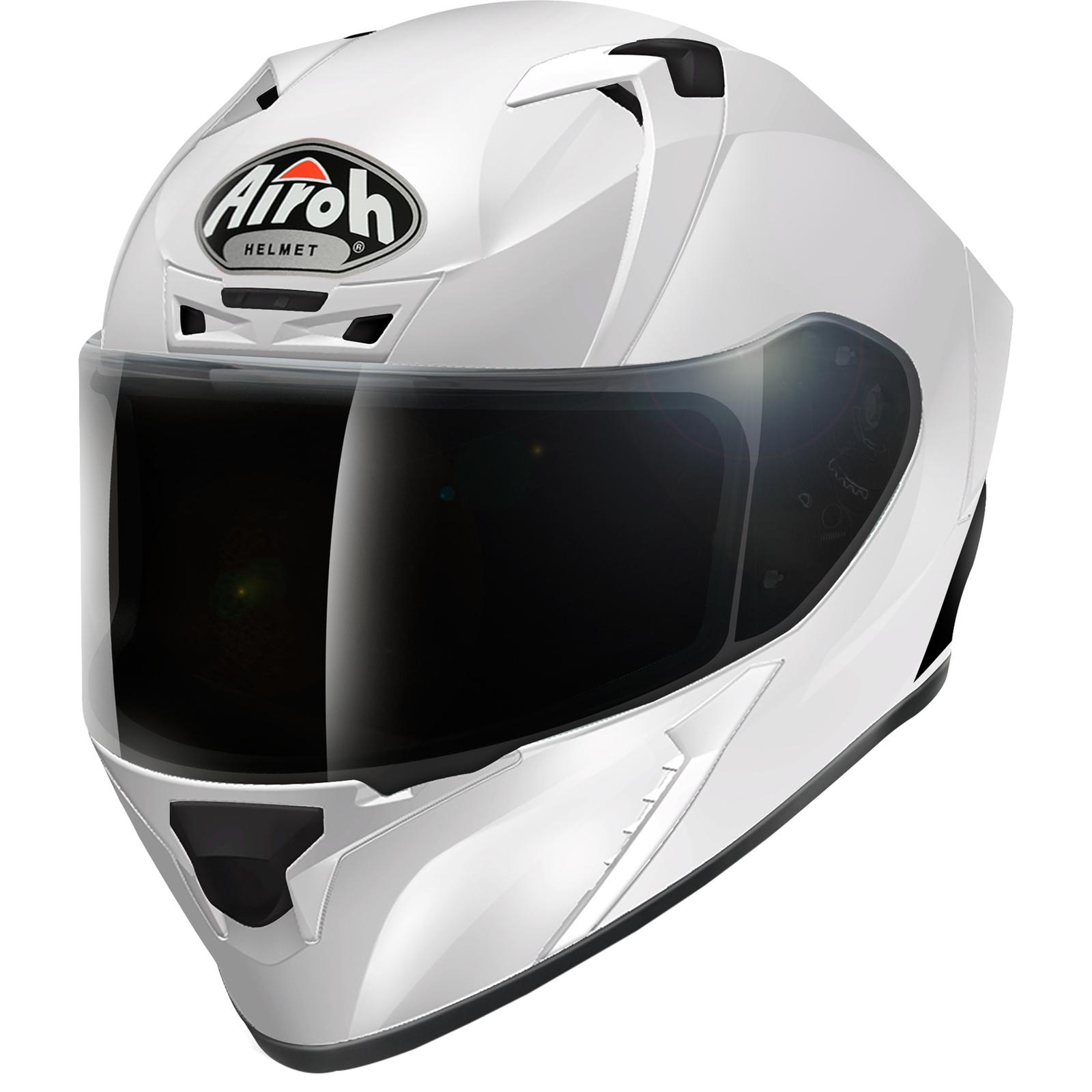 Airoh Valor Color Motorcycle Helmet /& Visor Full Face Motorbike Pinlock Track
