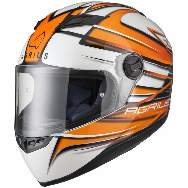 Agrius Rage Charger Motorcycle Helmet & Visor