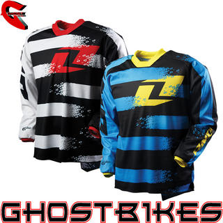 One Industries 2012 Carbon Stryper Motocross Jersey