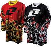 View Item One Industries 2012 Youth Carbon Stickers Motocross Jersey