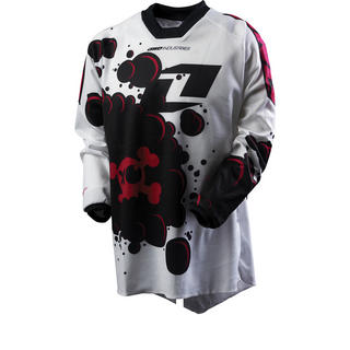 View Item One Industries 2012 Youth Carbon Stain Motocross Jersey