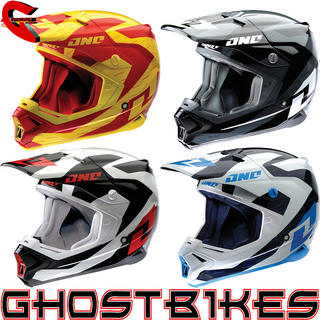 View Item One Industries Gamma Positron Motocross Helmet