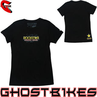 View Item One Industries Rockstar Energy Womens Plater T-Shirt