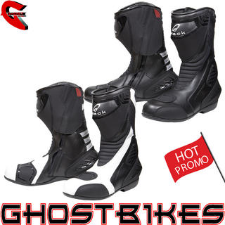 View Item Black Strike Waterproof Motorcycle Boots
