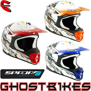 View Item Spada Violator Grit Motocross Helmet