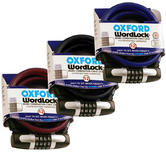 View Item Oxford WordLock Cable Lock 12mm x 1.8m