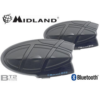 Midland BT2 Intercom Bluetooth System Twin Pack