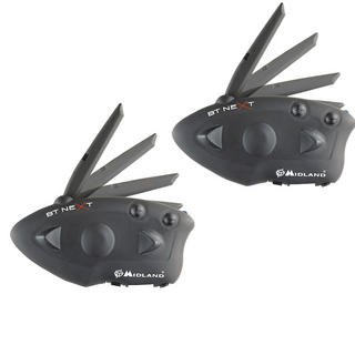 Midland BT Next Intercom Bluetooth System Twin Pack