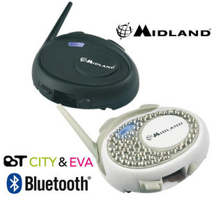 Midland BT City & Eva Intercom Bluetooth System