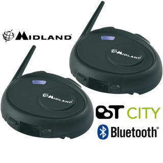 View Item Midland BT City Intercom Bluetooth Twin Pack