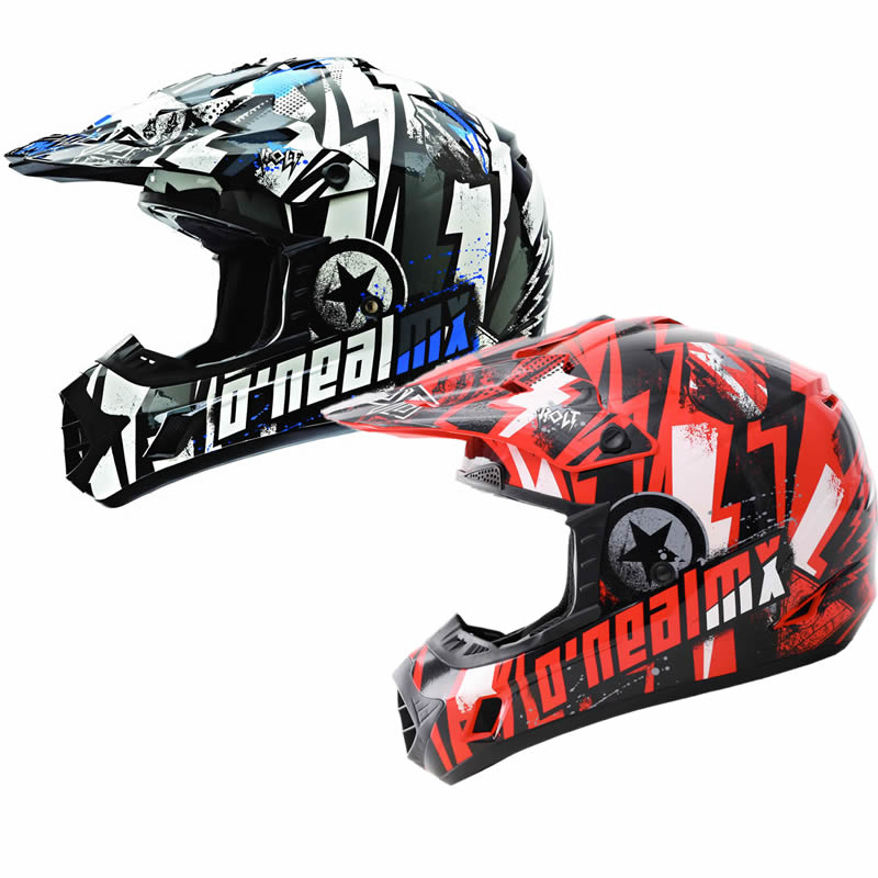 ONEAL 312 BOLT MX ENDURO OFF ROAD QUAD PIT DIRT BIKE MOTOCROSS CRASH HELMET Enlarged Preview