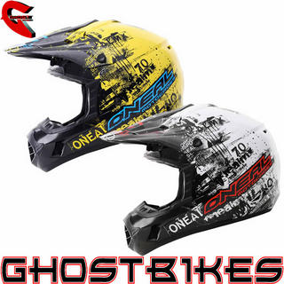 View Item Oneal 312 Toxic Motocross Helmet