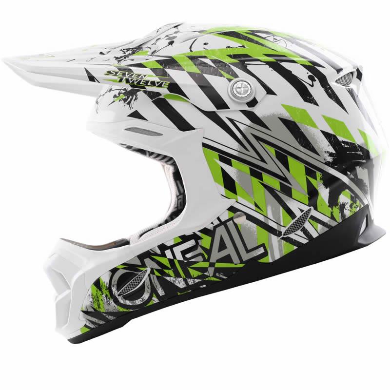 Green Dirt Bike Helmets Motocross crash helmet