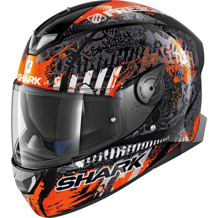 Shark Skwal 2 Switch Rider 2 Motorcycle Helmet & Visor
