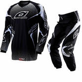 Oneal Element 2012 Racewear Black Motocross Kit
