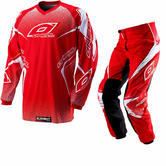 Oneal Element 2012 Racewear Red Motocross Kit