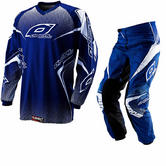 Oneal Element 2012 Racewear Blue Motocross Kit