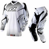 Oneal Element 2012 Racewear White Motocross Kit