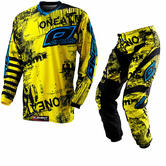 Oneal Element 2012 Toxic Black-Yellow Motocross Kit