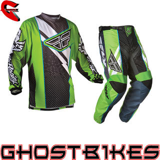 Fly Racing 2012 F-16 Green-Black Motocross Kit