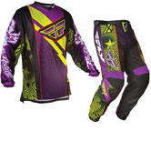 Fly Racing 2012 F-16 LTD Purple Motocross Kit