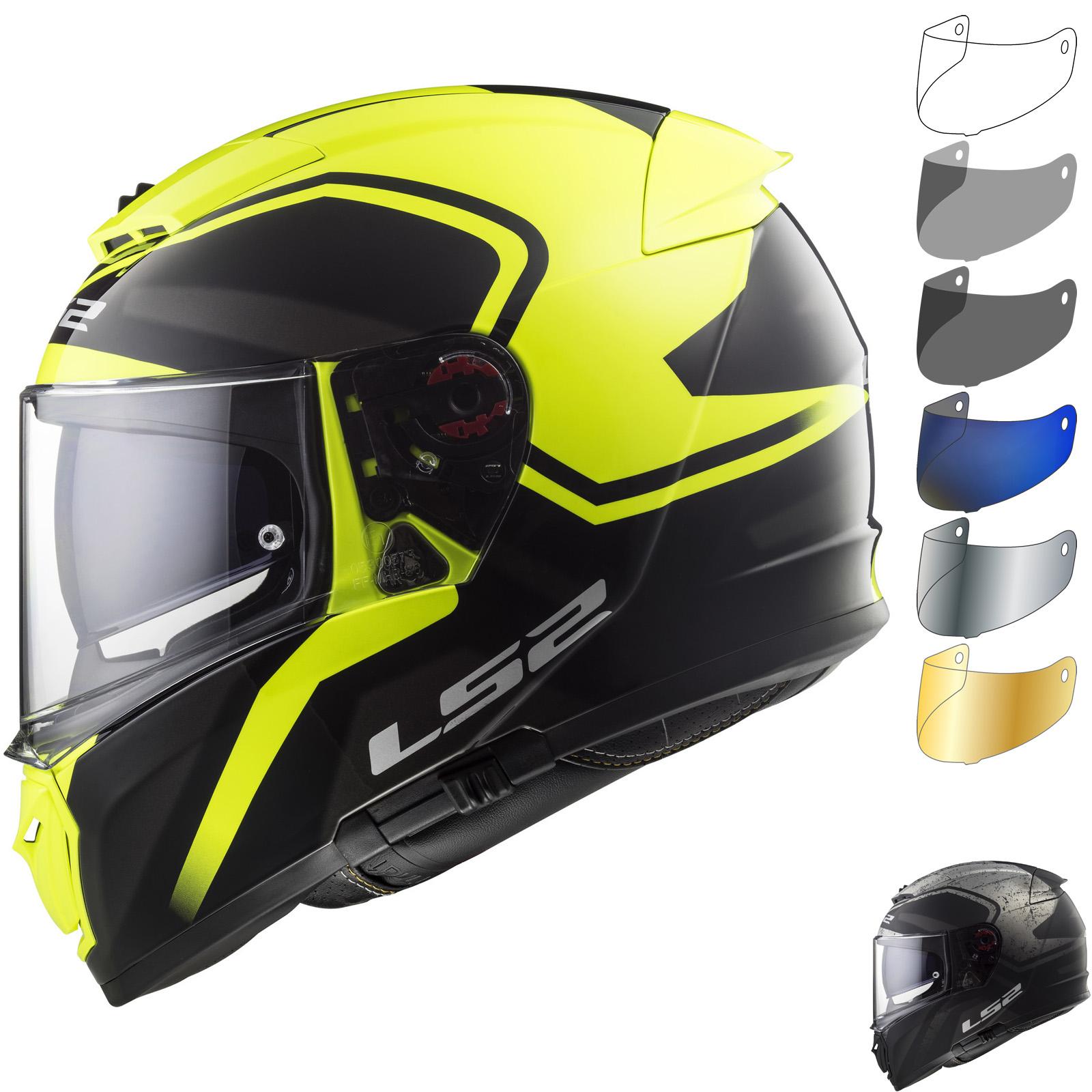 c4aeb709 LS2 FF390 Breaker Bold Motorcycle Helmet & Visor