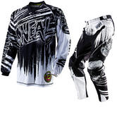 View Item Oneal Mayhem 2012 Crypt Black-White Motocross Kit