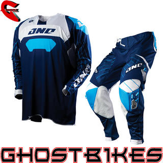 View Item One Industries 2012 Defcon Race Navy Motocross Kit