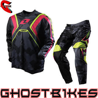 View Item One Industries 2012 Carbon Napalm Black Motocross Kit