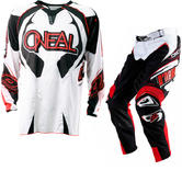 View Item Oneal Hardwear 2012 White-Red Motocross Kit