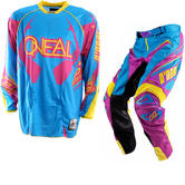 View Item Oneal Hardwear 2012 Cyan-Purple Motocross Kit