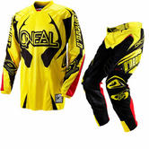 View Item Oneal Hardwear 2012 Yellow-Black Motocross Kit