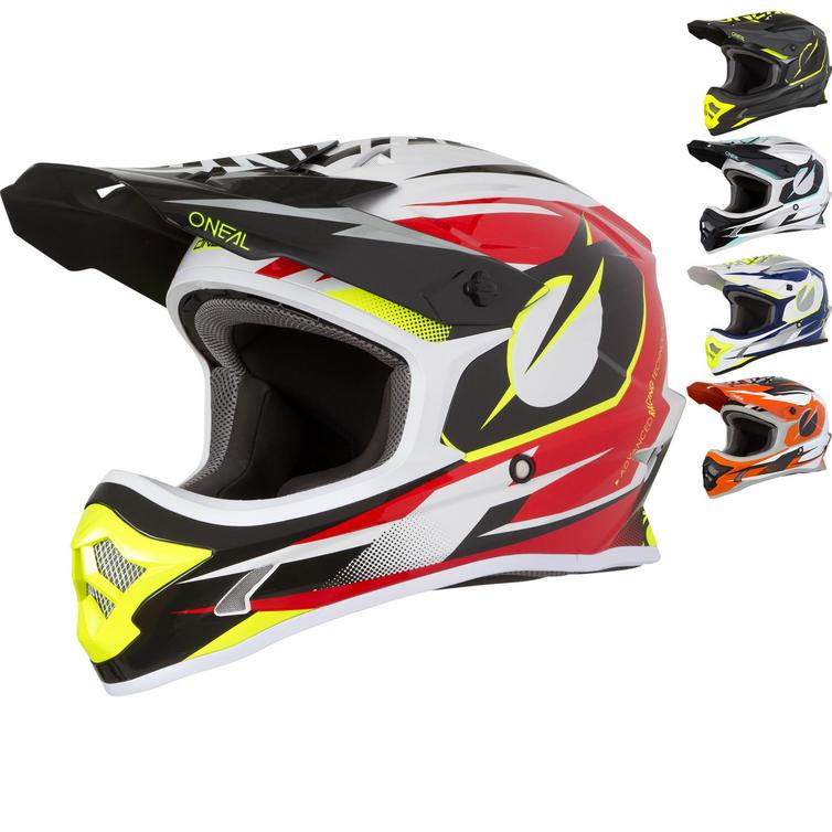 Oneal 3 Series Riff Motocross Helmet