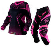Oneal Element Ladies 2012 Racewear Pink Motocross Kit