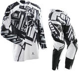 Thor Phase S12 Slab Black Motocross Kit