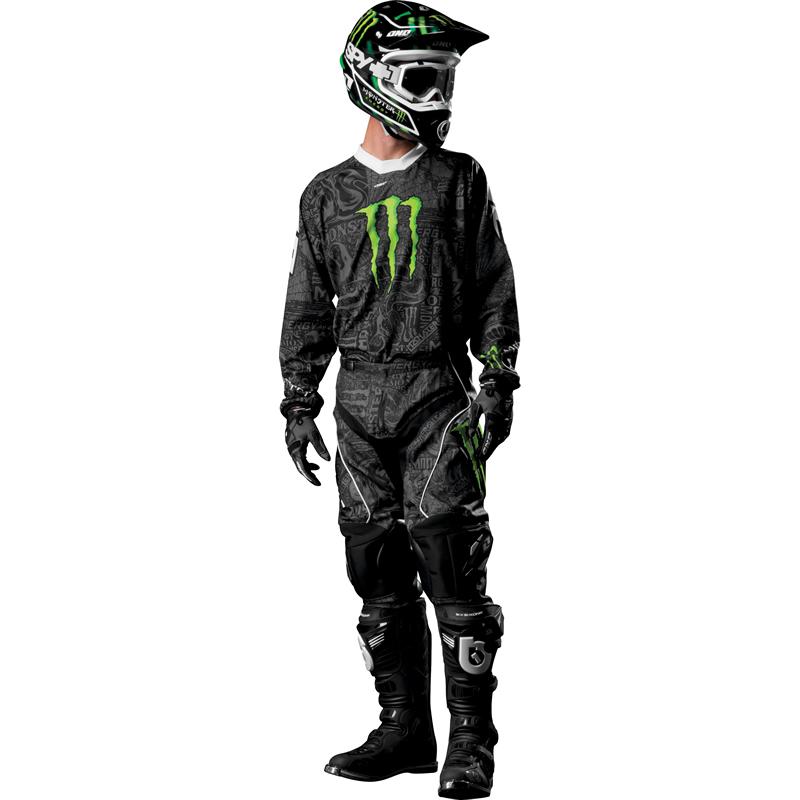 One Industries Carbon Monster Energy Mx Race Motocross