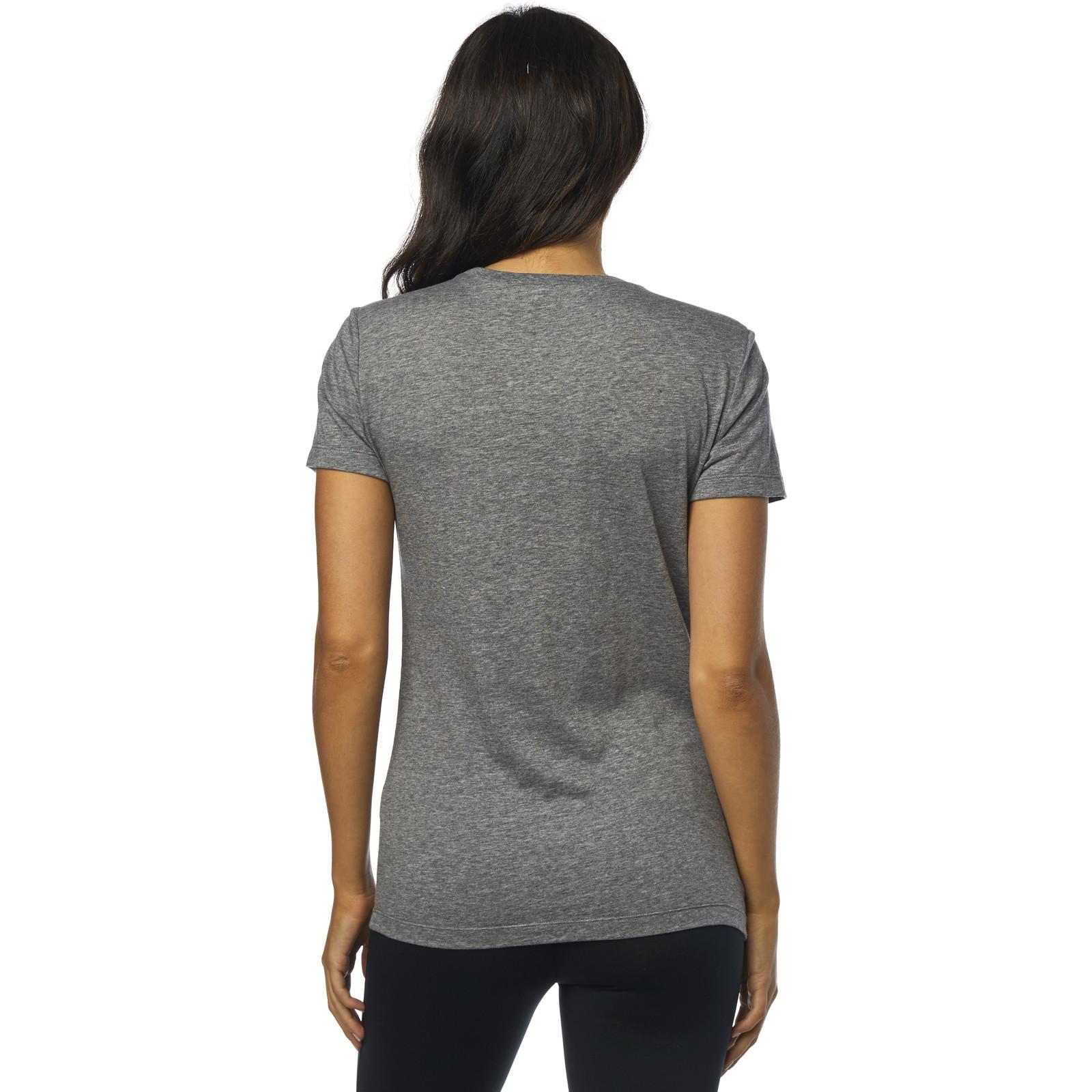 Fox Racing Retro Fox Ladies Short Sleeve Crew Neck T-Shirt Casual Wear Womens